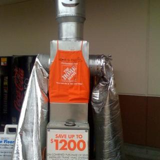 home depot robot