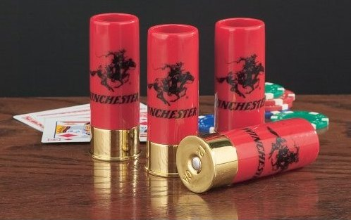 Amazon.com_ 4-Pk. Winchester® 12-gauge Shot Glasses