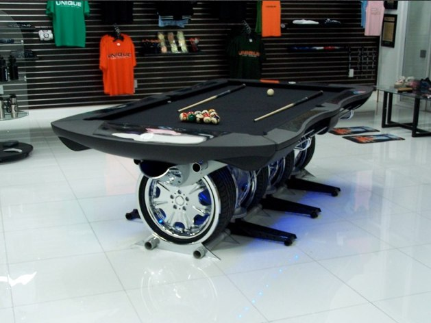 A Real Car Table