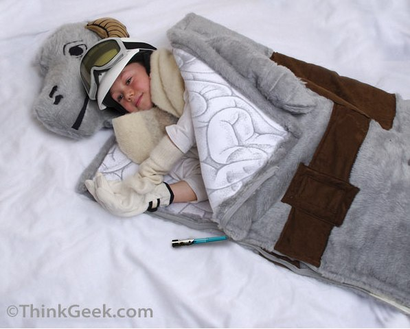 ThinkGeek __ Tauntaun Sleeping Bag