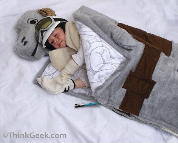 ThinkGeek __ Tauntaun Sleeping Bag