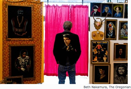 It_s curtains for the Velveteria velvet painting museum | Portland & Oregon Art - OregonLive.com